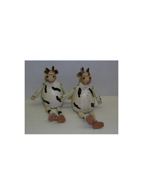Set 2 vaches assises