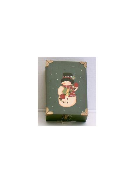 Boîte Noel 19X13X7 cm