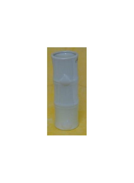 Vase bambou porcelaine 26 cm