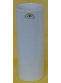 Vase porcelaine cylindre 22 cm