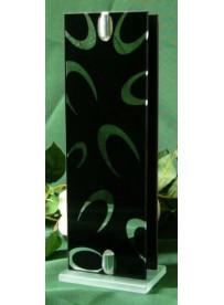 VASE BLACK GM  Hauteur 25.5cm/ Largeur 9cm