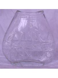 Vase ovale 13X5X14 cm