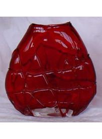 Vase rouge 13X5X4 cm
