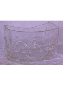 Vase carré 18X9.5X10.5 cm