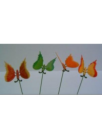 Papillon en plastique rigide