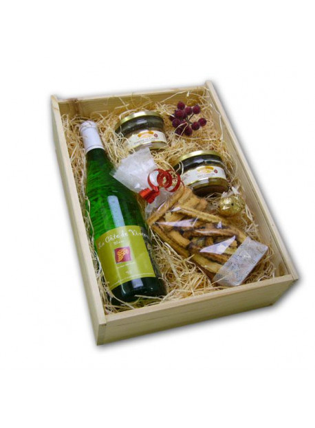 Panier Garnis vin blanc SANS ALCOOL