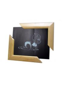 Miroir horizontal encadrement  2 coins 300X240