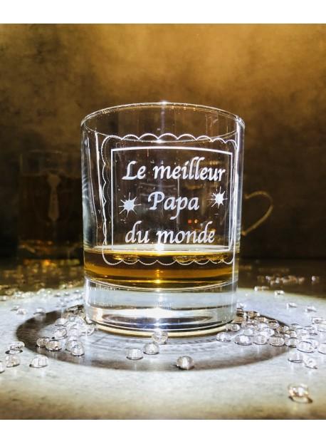 1 verre whisky 30cl personnalisé fête des pères