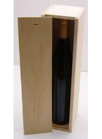 PLUMIER couvercle BOIS pour 1 bouteille d'Alsace 75 cl